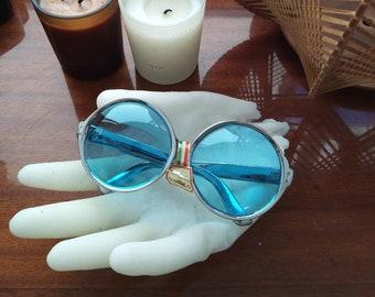 Neu Und Nie Verkauft Scarce Vereinigt 1964 Rund Französisch Brille Rahmen In Rosa
