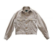 Junior Gaultier Jean Paul Gaultier beige Denim Jacket - Size M