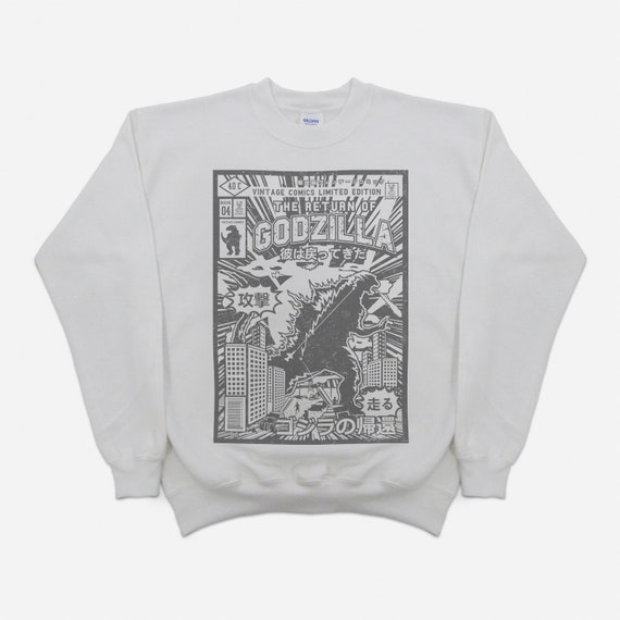 Boys Kids Rock The Party Stone Wash Jumper Sweater Winter Age 9 10 11 12 13 14