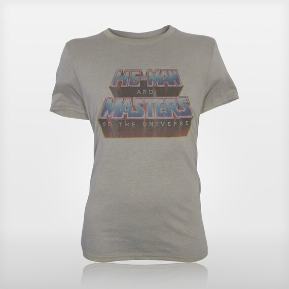 HE MAN /& CREW Masters of the Universe Vintage Style Heather T-Shirt All Sizes