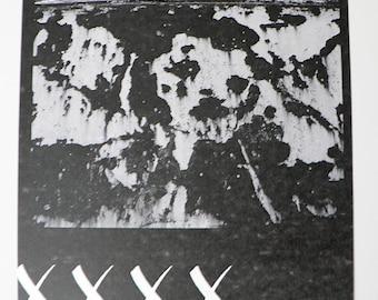 Femme/Noire | A4 | Cotton paper | Kunstdruck