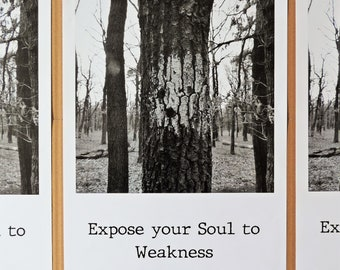 Expose your Soul to Weakness - Poster | A3