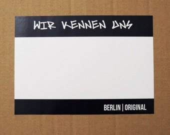 """10 Graffiti Tag Sticker for self-labelling 
