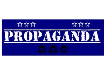 Propaganda-Sicker, blue