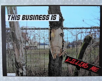 This Business is killing me!  - Poster | Din A4 Print