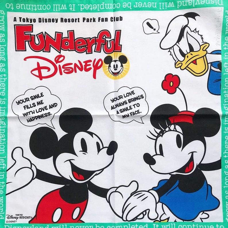 vintage hankies wedding handkerchief bride handkerchief Vintage Mickey Mouse Handkerchief  hand embroidered gift for her