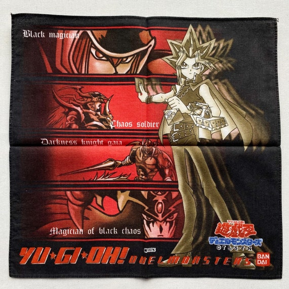 Vintage Yu-Gi-Oh handkerchief