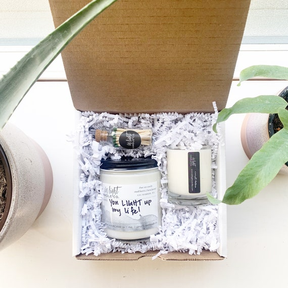 Gift Box with Custom Label