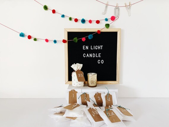2021 Candle & Tealight Advent Calendar - Bestselling Scents, A New One For Every Day - Best Gift For Adults This Holiday