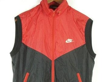 e66cdd0c16eca Nike blue vest | Etsy