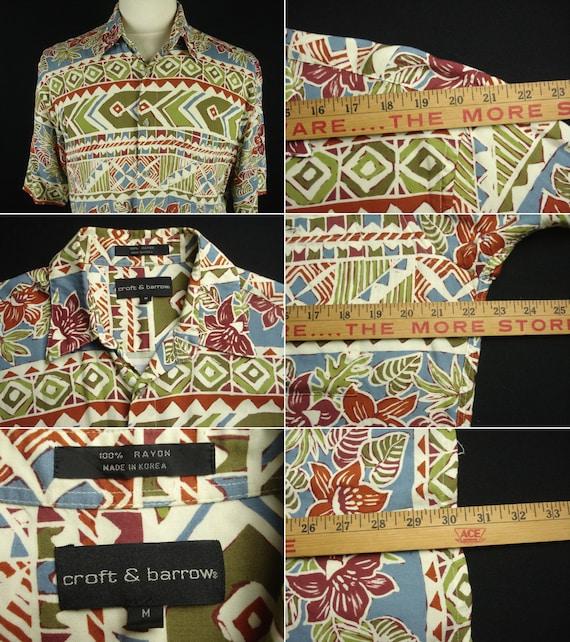 Vintage Hawaiian Aloha Shirt M Rayon 100% - image 2
