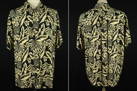 Vintage Ocean Pacific Hawaiian Aloha Shirt M Rayon