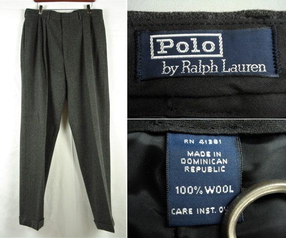 36 x 34 Polo Ralph Lauren Heavy Weight Winter Slac