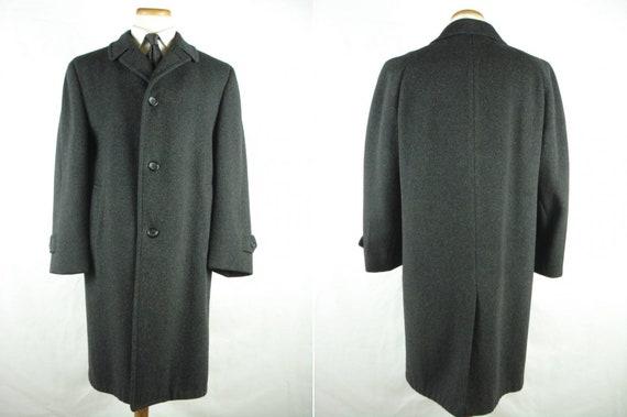 Vintage Richman Brothers Wool Overcoat Top Coat