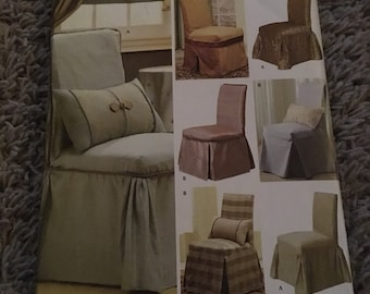 Simplicity 4094 Christopher Lowell Collection Chair Cover
