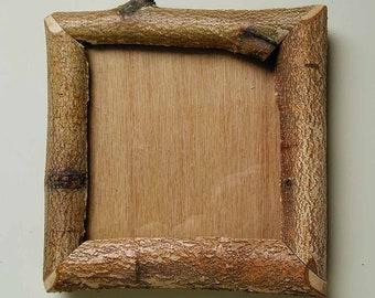 "4"" X 4"" Natural Birch Limb Frame (ID #6)"
