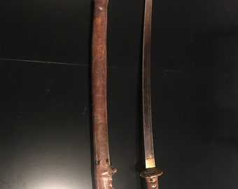 WW II samurai sword