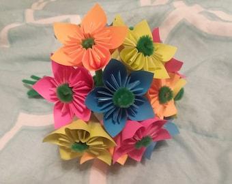 Origami flowers etsy popular items for origami flowers mightylinksfo