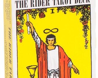Rider waite tarot deck | Etsy