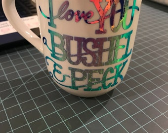 I Love You a Bushel & a Peck Mug