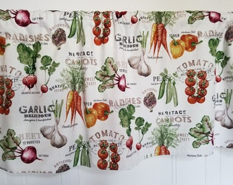 Vegetable Curtain Etsy