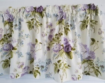 Floral Valance Etsy