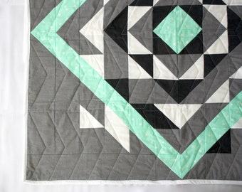 Custom pieced baby quilt