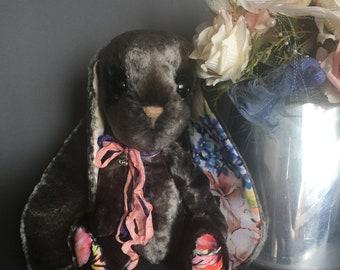 1 Author's toys,soft toys , natural materials ,technique Teddy,friends Teddy,rabbit Teddy,artwork,