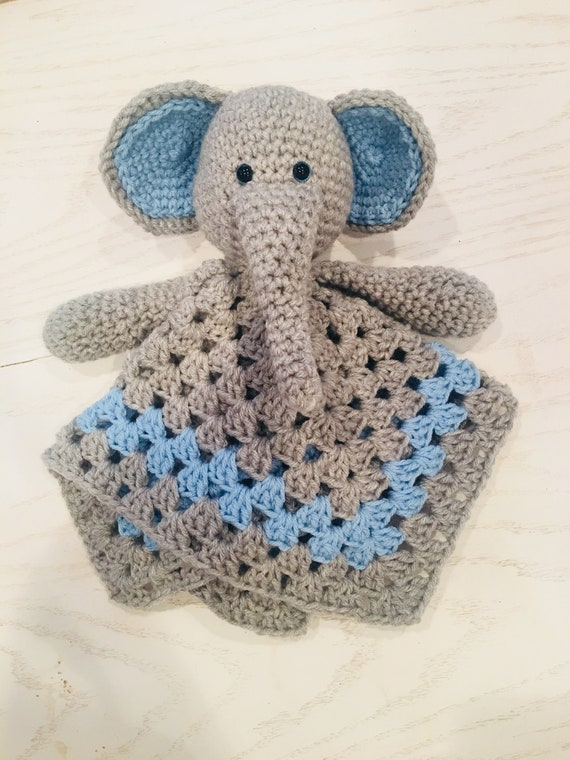 Elephant Lovey Crochet Pattern INSTANT DOWNLOAD PDF security | Etsy | 760x570