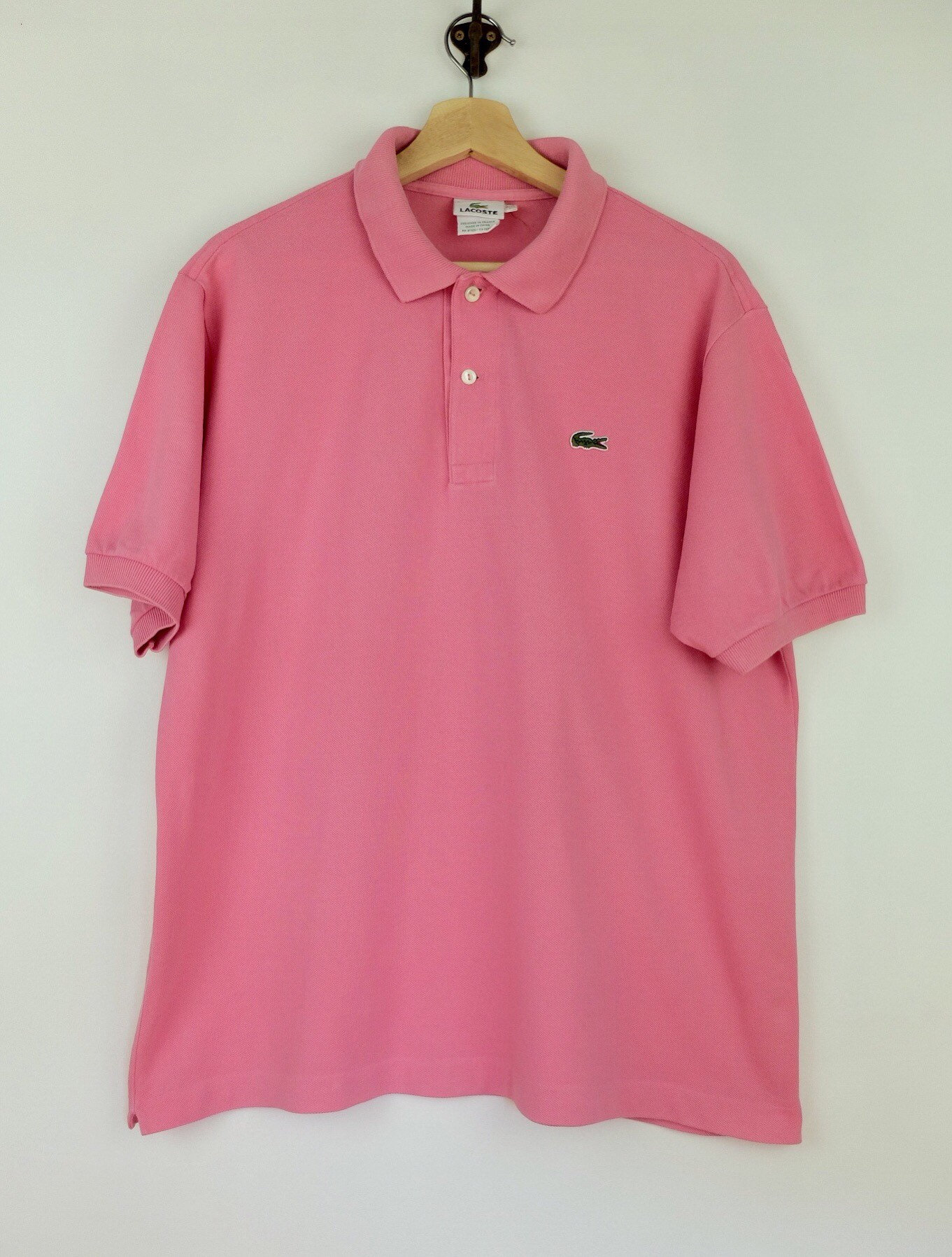 216340229 Vintage pink Lacoste Polo