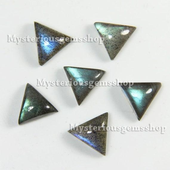 Labradorite Triangular Shape Cabochon