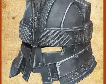 9dce0f97fb3 Cosplay Helmet of battle dwarf.LOTR. Fiberglass. Gift. Art. Larp. Craft.   cosplay.  Surprise  dwarfarmor