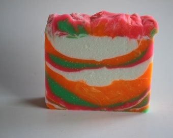 Artisan Soap Bold Neon Colors,
