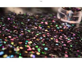 Cosmetic glitter for nail art, beauty and craft - blackpool rocks