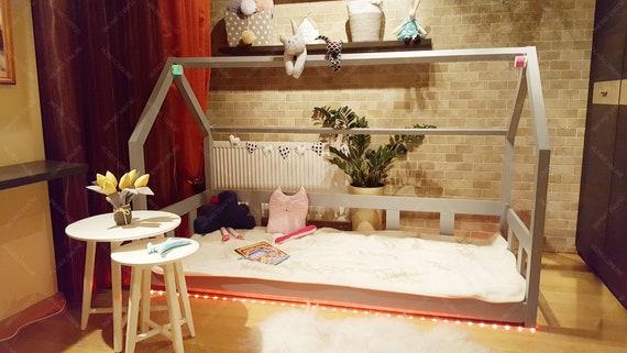 Letti A Castello Per 3 Bambini.Led Corda Leggera Strip Light Per Letti A Castello Per Bambini Etsy