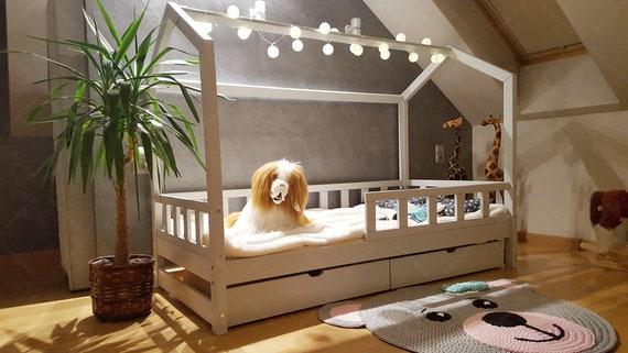 Haus Bett Mit Schublade Kinder Betten Haus Bett Fur Kinder Etsy