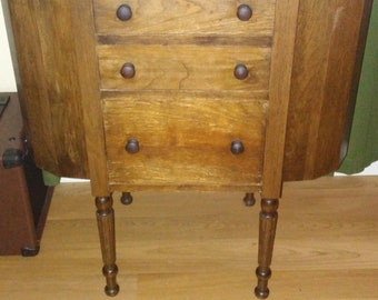 Vintage Early 1900's Martha Washington Sewing Cabinet in Excellent shape!!