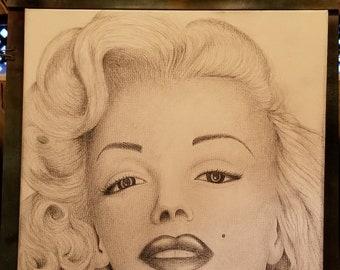 Art work on canvas