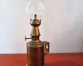 Lamp Lantern Pigeon antique brass