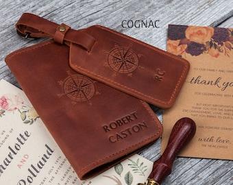 Valais Sheep Plush Multi-purpose Travel Passport Set With Storage Bag Leather Passport Holder Passport Holder With Passport Holder Travel Wallet
