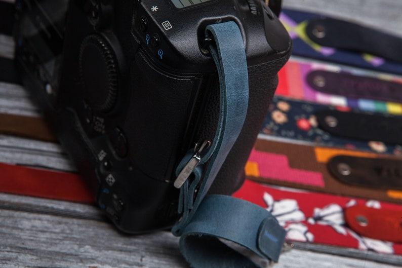 Custom camera strap personalized