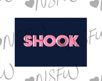 SHOOK Card