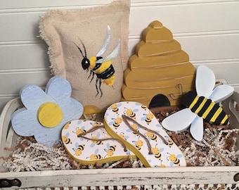 Bee Happy Vignettes