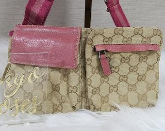 3fcde261a0d Gucci Fanny Pack Bum Bag Monogram Pink Details