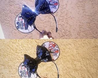 Mickey and Minnie Sailor Ears