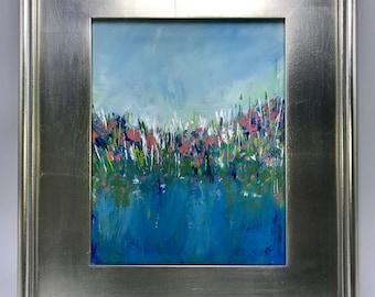 Framed Acrylic Painting