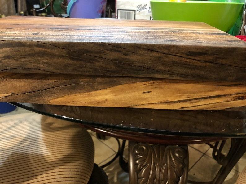Sycamore live edge cutting board