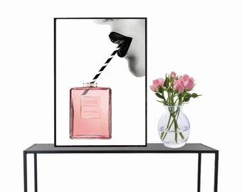 Coco Chanel, Poster, Print, Wall art, Photography