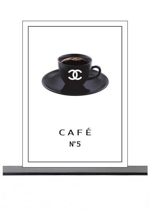 Cake, Coffee, and Chanel No. 5
