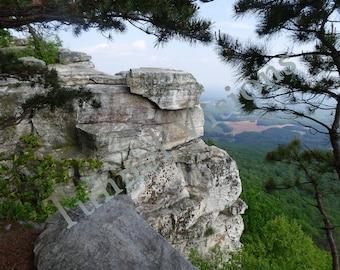 Pilot Mountain (NC) Overlook